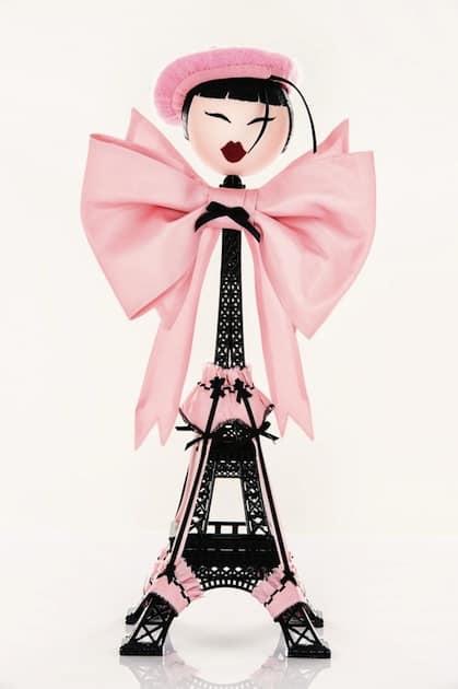 """Paris, c'est une brune"" van Chantal Thomass - Editie 2013"