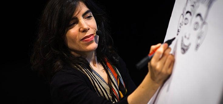 Illustratrice Isol, winnares ALMA 2013