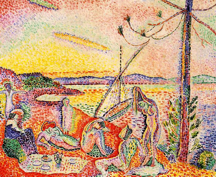 Luxe, calme et volupté (c) Matisse, uit
