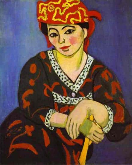 Madame Matisse madras rouge