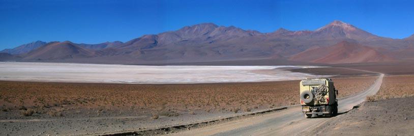 De Unimog in Chili (c) Opensens