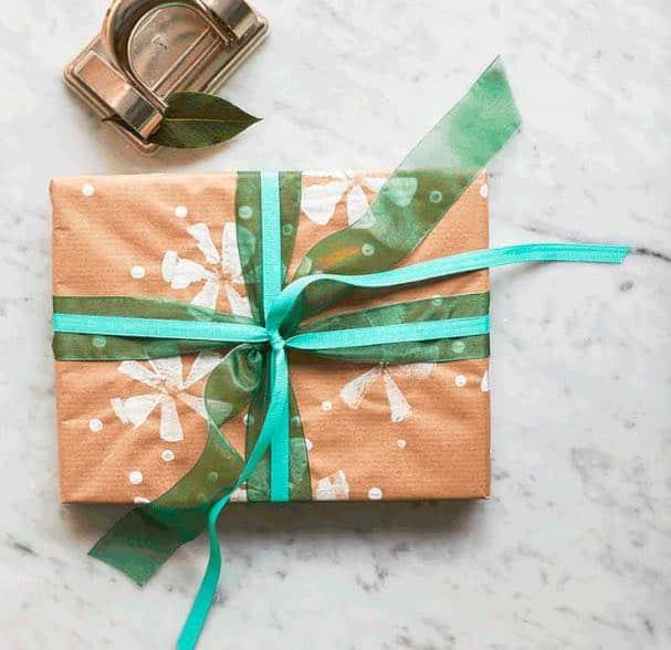 zelf cadeaupapier maken