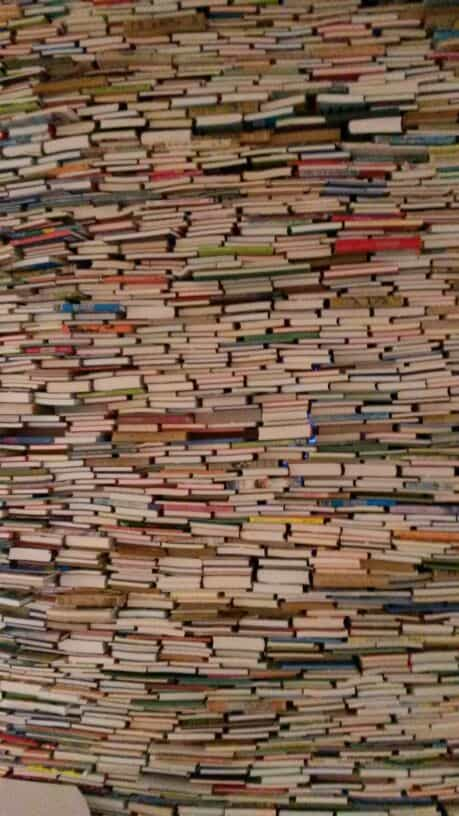 De boekenmuur (c) Srsck