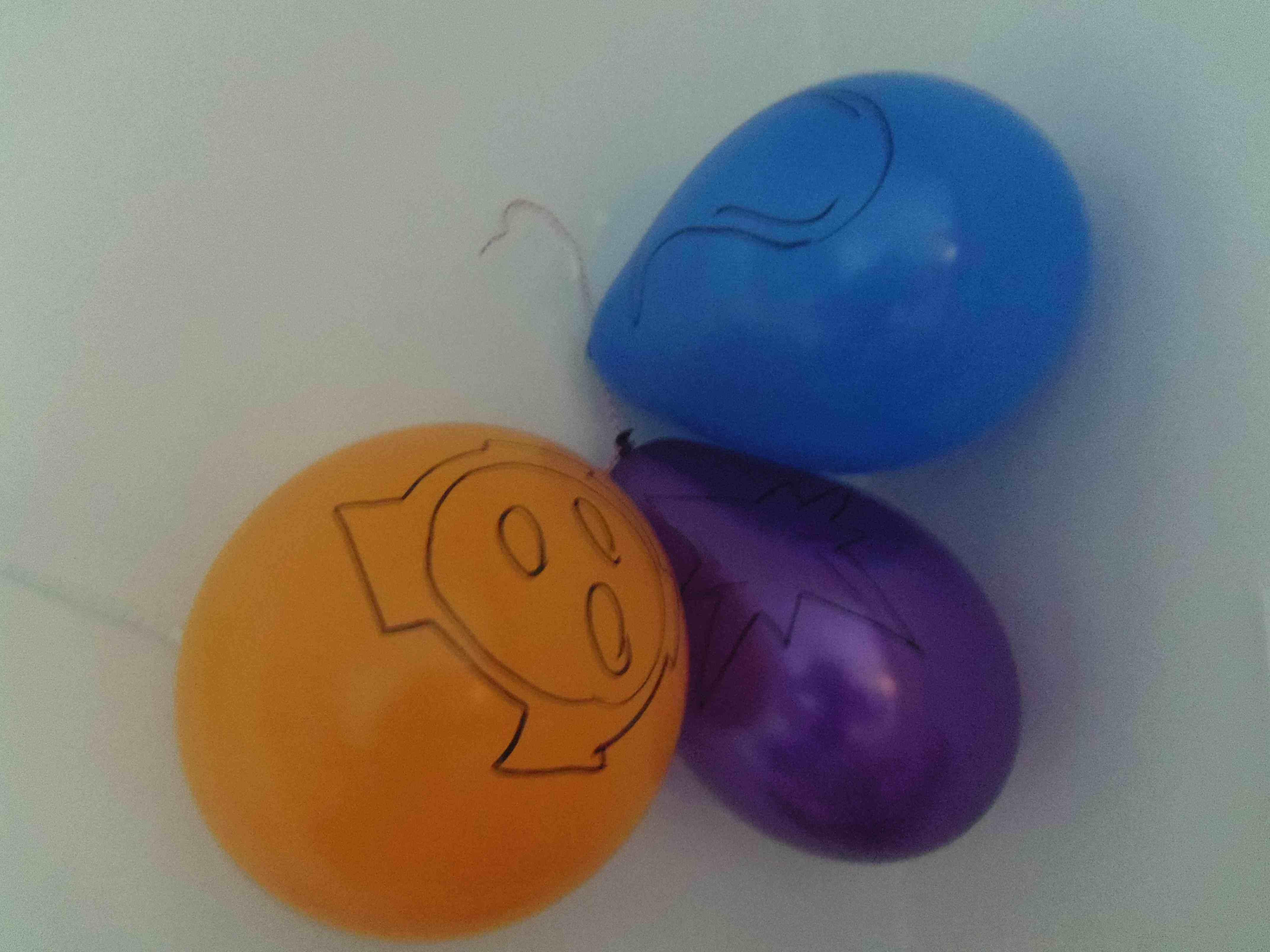 Elementen op de ballonnen (c) Srsck