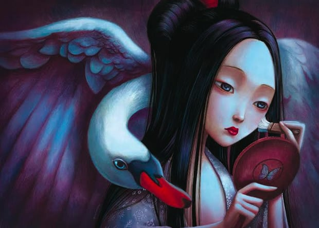 From Madame Butterfly (c) Benjamin Lacombe