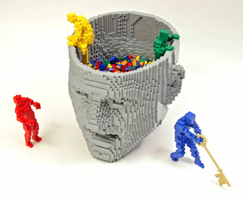 Expo: The Art of the Brick