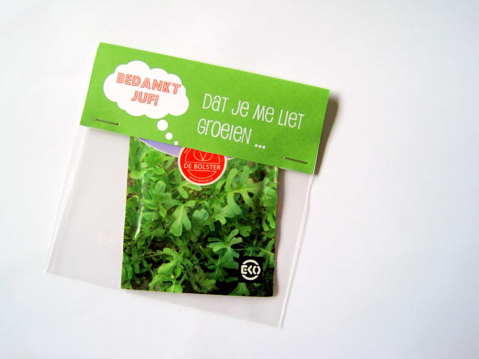 Een groene traktatie (c) Effie Maakt