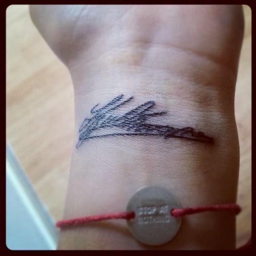 handtekening tattoo