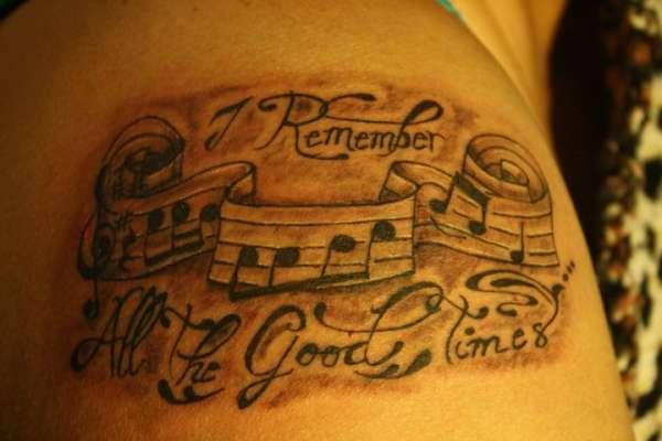 lyrics tattoo