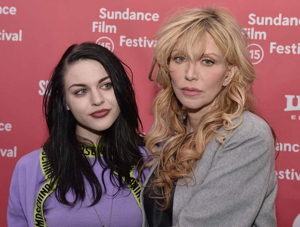 Courtney love en dochter