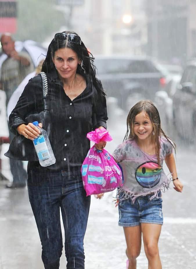 Coco heeft lol in de regen