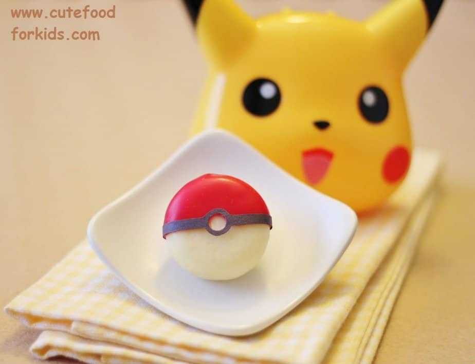 Pokeball traktatie (c) Cute for kids