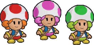 Toad zusjes