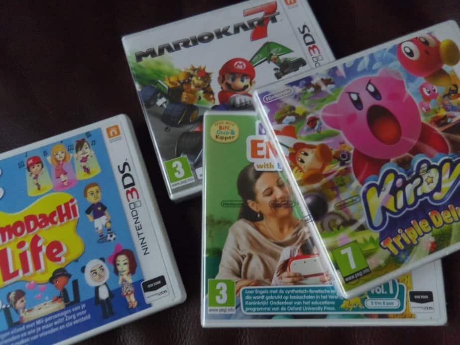 Games voor de Nintendo 3DS