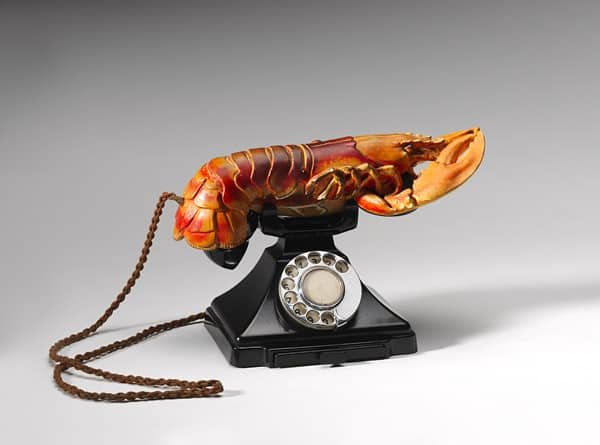 Salvador Dalí's Lobster telephone