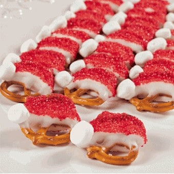 Pretzel kerstmannen (c) Free-n-fun Christmas