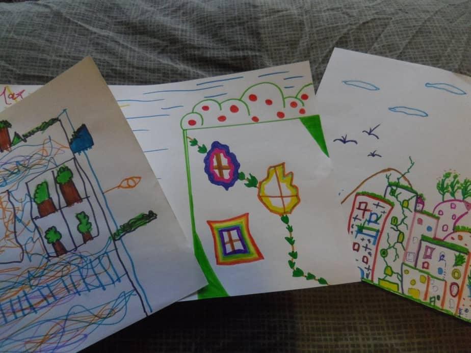 Onze Hundertwasser huizen