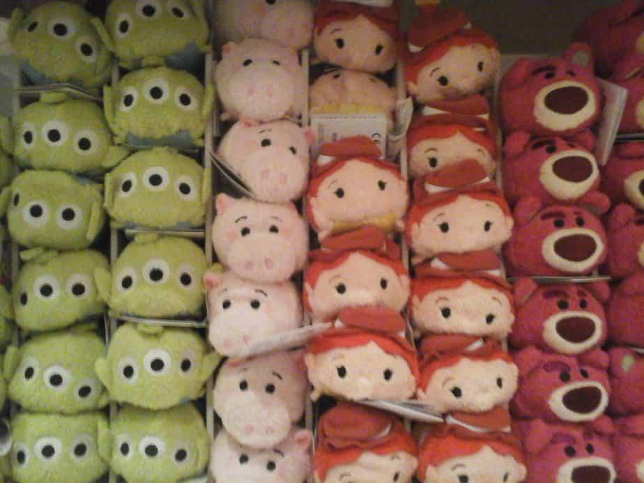 Tsum Tsum gekte in Disneyland Parijs