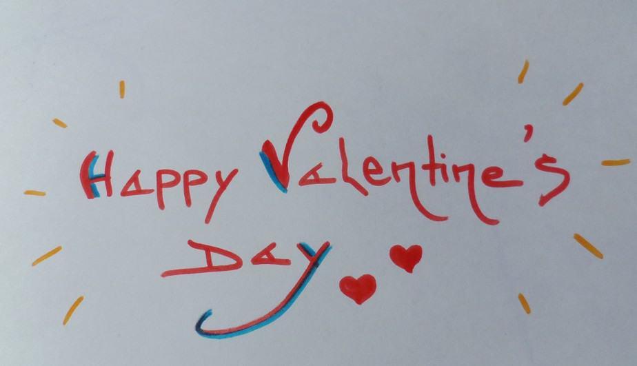 Alvast een happy valentinesday!