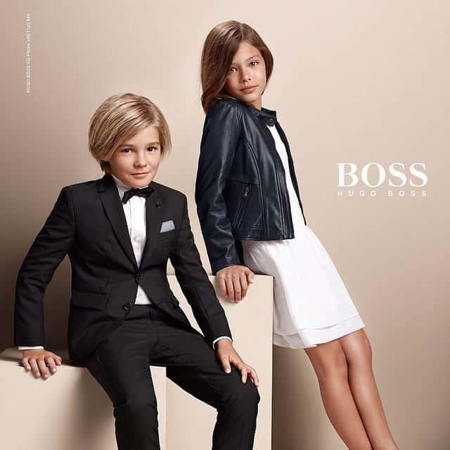 Layneya Grace voor Hugo Boss (c) Dani Brubaker