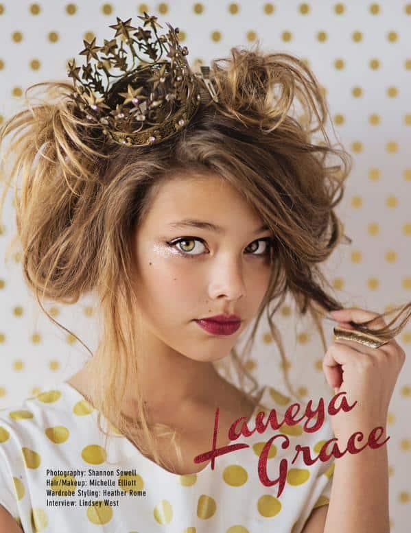 Laneya Grace voor Lvlten Mag
