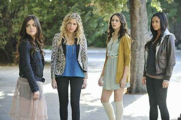 De kleding in PLL: Pretty Little Liars