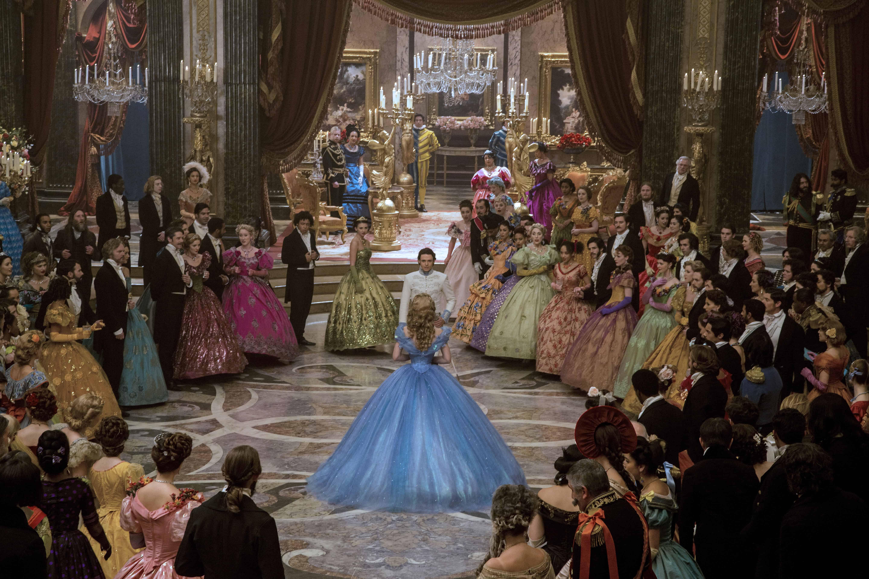 Cinderella is een visueel spektakel