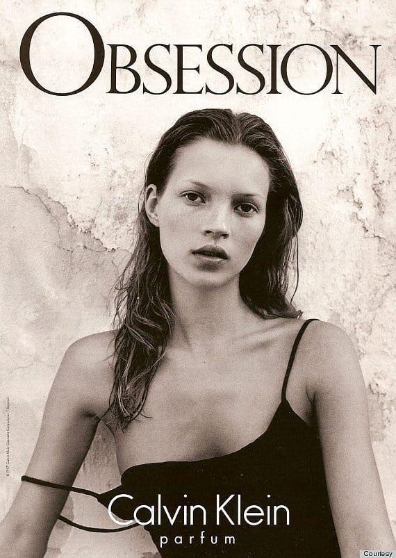 Voor Calvin Klein in 1992
