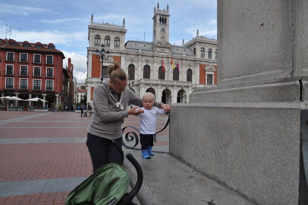 Roan zet stapjes aan Plaza Mayor