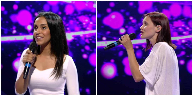 Nora links, Hanne rechts