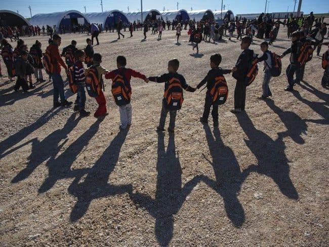 Vluchtelingen in Turkije