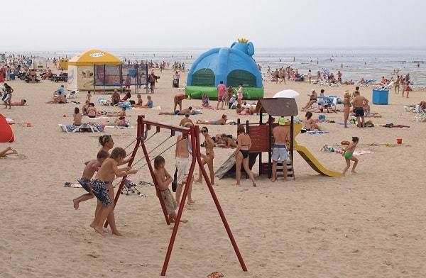 Strand bij Jurmala