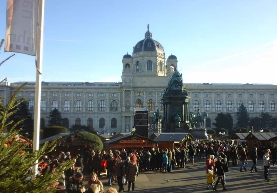 Kunsthistorisch museum en..kerstmarkt :)