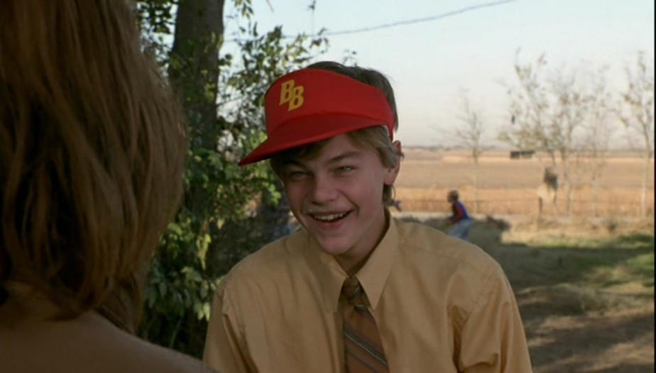 DiCaprio als Arnie in Who's Eating Gilbert Grape