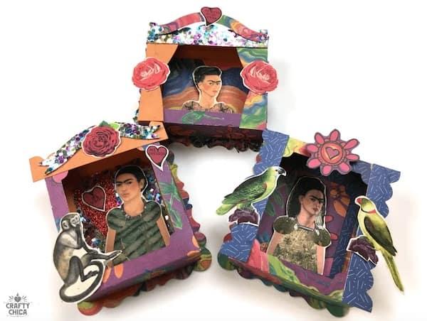shadow box Frida