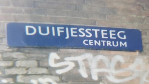 duifjessteeg Amsterdam