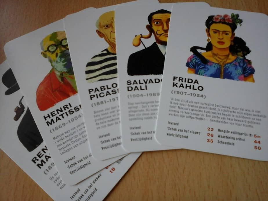 kaartspel frida kahlo
