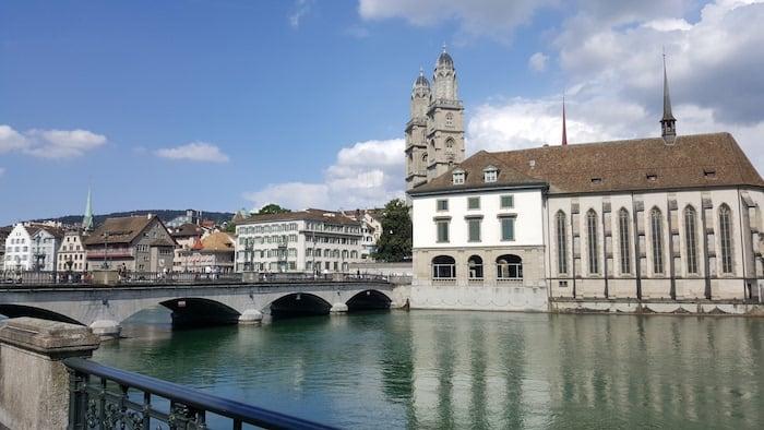 Met de kids naar Zürich in Zwitserland