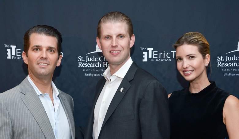 kinderen van Donald Trump