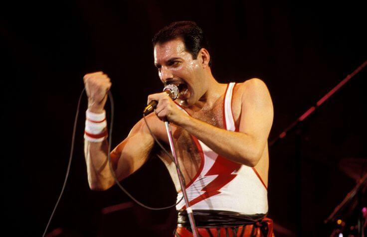 Freddie Mercury en Aids