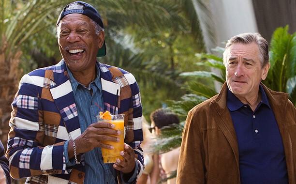Morgan Freeman in Last Vegas
