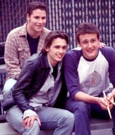 Van links naar rechts: Ken, Daniel en Nick