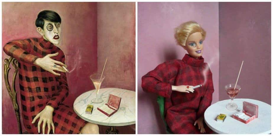 Barbie kunst