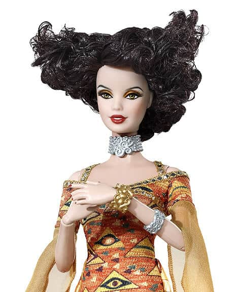 Gustav Klimt Barbie