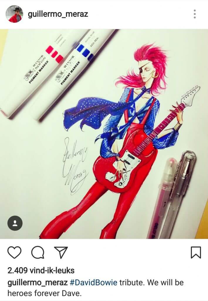 Illustraties op Instagram