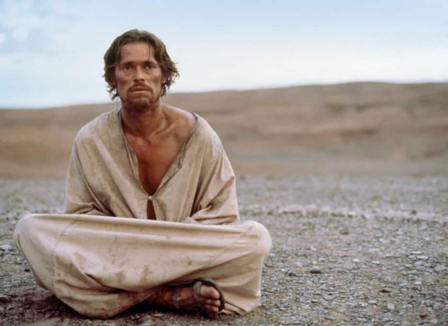 Willem dafoe als jezus
