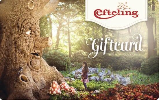 Efteling cadeaukaart
