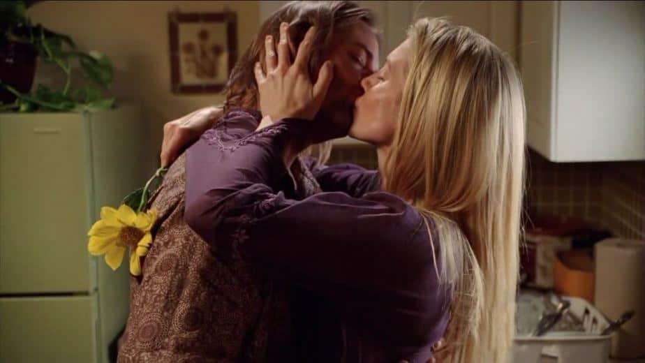 echte liefde kus