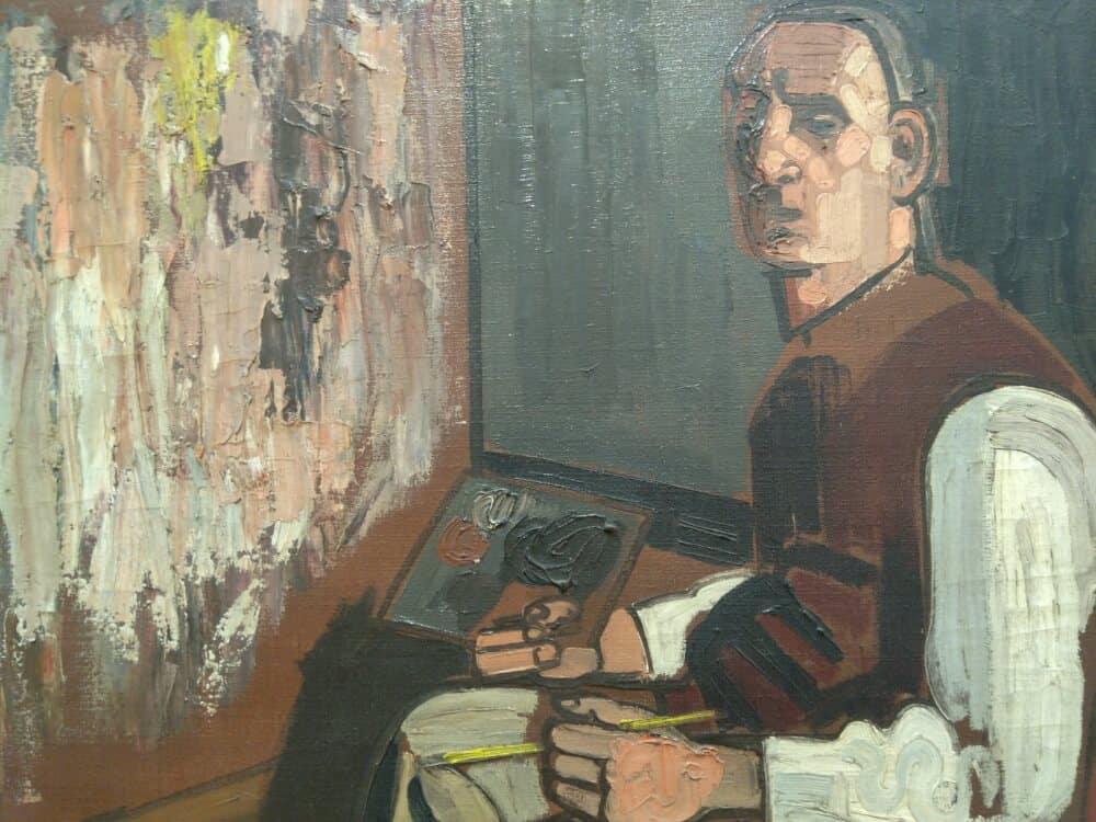 Jean Brusselmans in het Gemeentemuseum