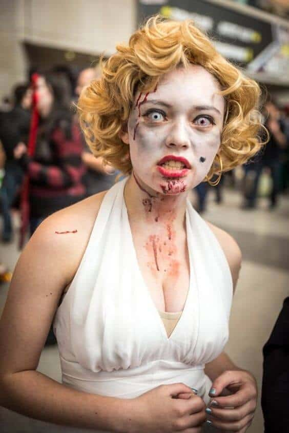 Marilyn Monroe Halloween costume